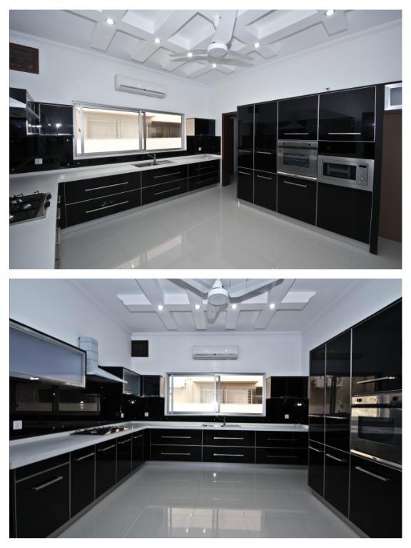 black-laminate-kitchen