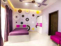 purple-circles-child-room-design