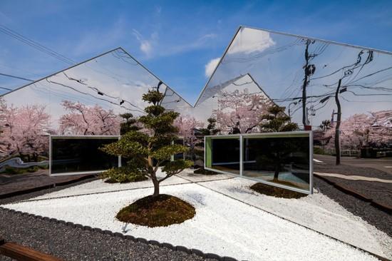 Mirrors, Gifu, Japan